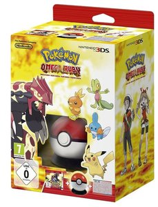3DS Pokèmon Omega + Pokèball Cardcase