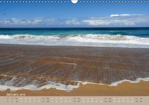 Aloha from Hawaii - UK Version (Wall Calendar 2016 DIN A3 Landsc