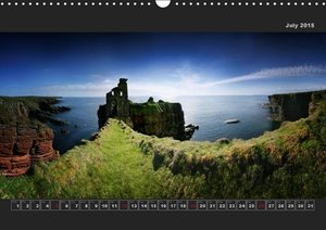 Panoramic Scotland / UK-Version (Wall Calendar 2015 DIN A3 Lands