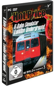Hot Price U-Bahn Simulator 3. London