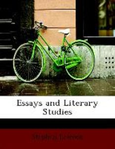 Essays and Literary Studies
