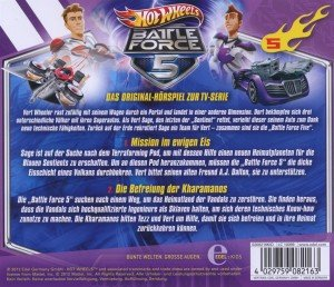 Hot Wheels/Battle Force 5: (5)HSP z.TV-Serie