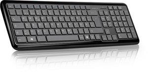 Speedlink SL-6418-BK METOS Wireless Multimedia Keyboard, Tastatu