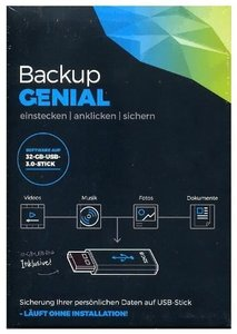 Backup Genial - 32 GB USB-Stick