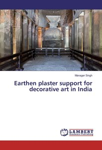Earthen plaster support for decorative art in India