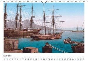 Sailing Ships (UK Version) (Wall Calendar 2016 DIN A4 Landscape)