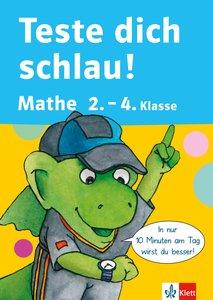 Teste dich schlau Mathe 2.-4. Klasse