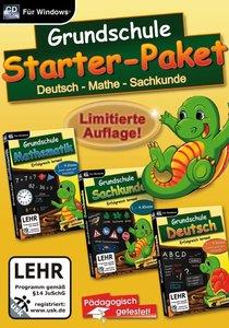 Grundschule Starter-Paket (Deutsch, Mathe und Sachkunde)