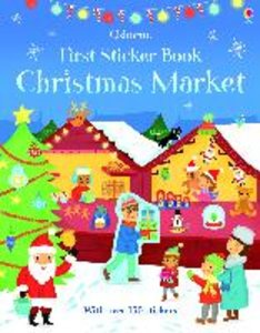 First Sticker Book: Christmas Market