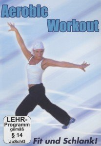 Aerobic Work out-Fit und schlank