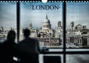 Dynamic LONDON (Wall Calendar 2015 DIN A4 Landscape)