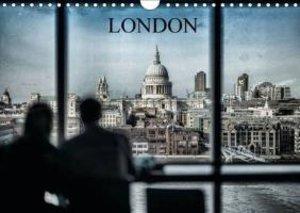 Dynamic LONDON (Wall Calendar 2015 DIN A4 Landscape)