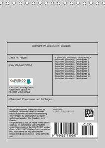 Charmant: Pin-ups aus den Fünfzigern (Tischkalender 2018 DIN A5