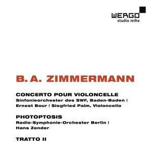 Concerto pour violoncelle/Photoptosis/Tratto I