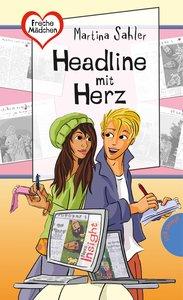 Freche Mädchen - freche Bücher!: Headline mit Herz