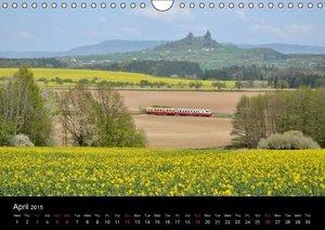 Railways in Saxony, Poland, Czechia and Latvia (Wall Calendar 20