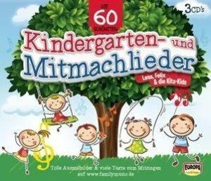 Die 60 schönsten Kindergarten- und Mitmachlieder