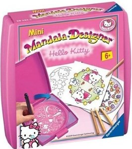 Ravensburger - Hello Kitty, Mini Mandala Designer