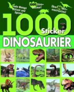1000 Sticker Dinosaurier