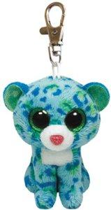 Ty Clip - Leopard Leona 8,5 cm blau/grün