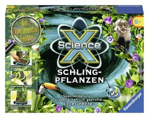 Ravensburger 18187 - ScienceX Mini Schlingpflanzen