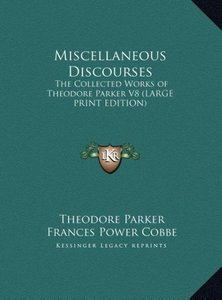 Miscellaneous Discourses