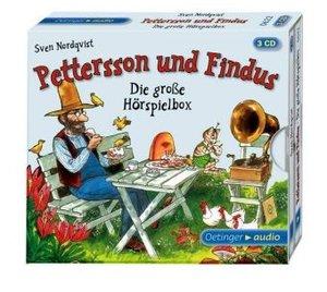 Die große Hörspielbox von Pettersson und Findus (3 CD)
