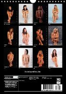 Seated naked beauties (Wall Calendar 2015 DIN A4 Portrait)