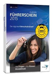 Europa Führerschein 2015 - Der digitale Fahrschultrainer!