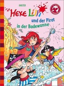 Hexe Lilli und der Pirat in der Badewanne