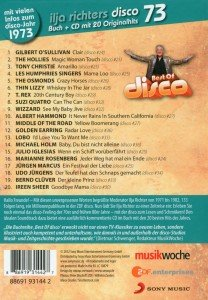 disco 73-disco mit Ilja Richter-Buch+CD