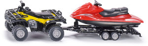 SIKU 2314 - Quad mit Jet-Ski