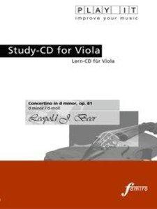 Concertino in d minor, op. 81