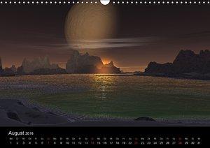 Fantasie-Planeten (Wandkalender 2016 DIN A3 quer)
