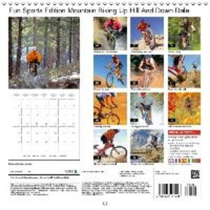 Fun Sports Edition Mountain Biking Up Hill And Down Dale (Wall C