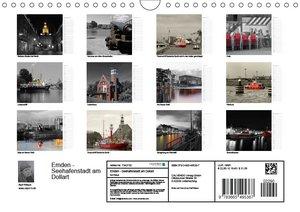 Emden - Seehafenstadt am Dollart (Wandkalender 2017 DIN A4 quer)