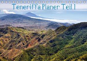 Teneriffa Planer Teil 1 (Tischkalender 2016 DIN A5 quer)
