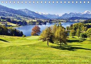 Einladung zum Golf (Tischkalender 2018 DIN A5 quer)
