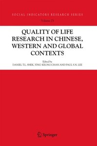 Quality-of-Life Research in Chinese, Western and Global Contexts