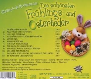 Die Schönsten Frühlings-Und Osterlieder