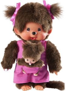 Monchhichi Mother Care Pink Girl, 20 cm