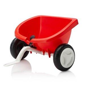 Kettler - Dreirad Anhänger, rot, mit Kippfunktion