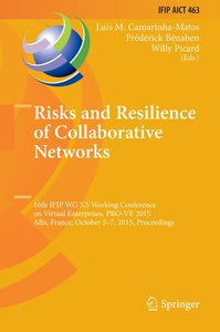 Risks and Resilience of Collaborative Networks