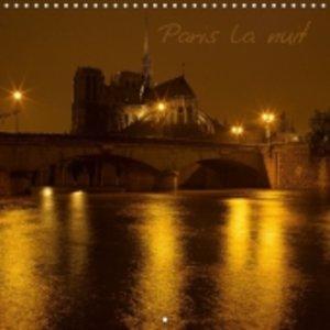 Paris la nuit (Calendrier mural 2015 300 × 300 mm Square)