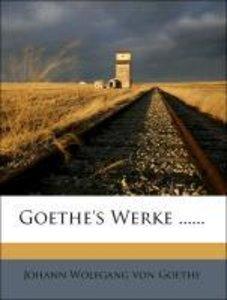 Goethe's Werke, Eilfter Band