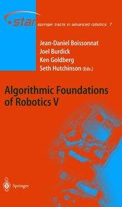 Algorithmic Foundations of Robotics 5