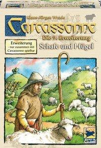 Schmidt Spiele 48240 - Carcassonne: Schafe und Hügel, Erweiterun