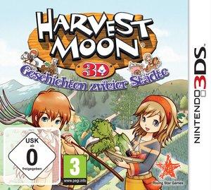 Harvest Moon 3D: Geschichten zweier Städte - Sticker Edition (Ni