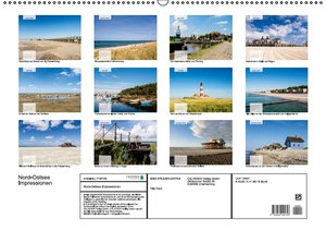 Nord-Ostsee Impressionen (Wandkalender 2016 DIN A2 quer)