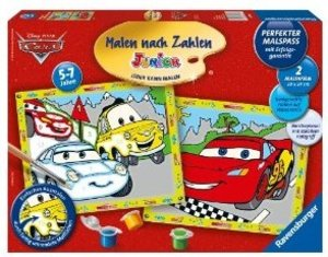 Cars. Malen nach Zahlen Junior